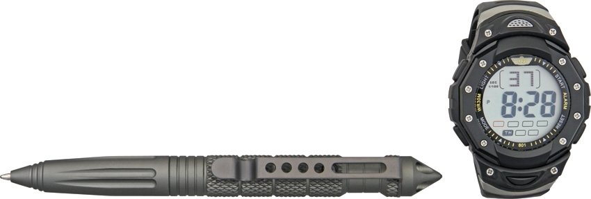 Uzi Tactical Pen and Watch Combo
