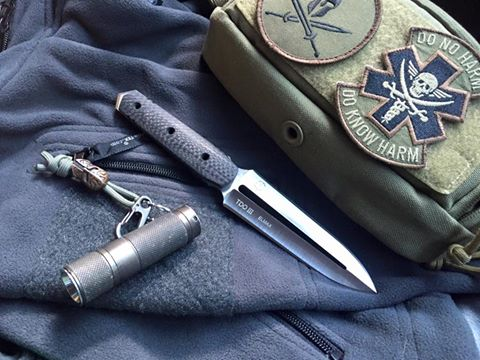 Tora Tactical Knives  TDO III Elmax