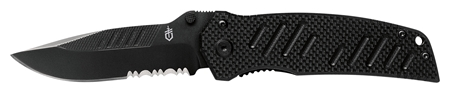 Gerber Swagger Drop Point, Serrated
