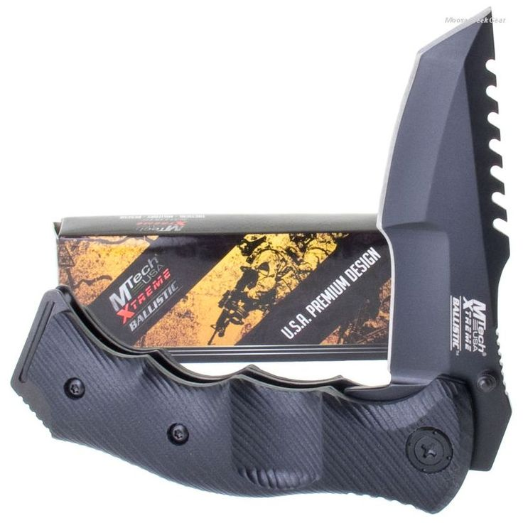 Mtech Extrem Tactical Fighting Knife A/O