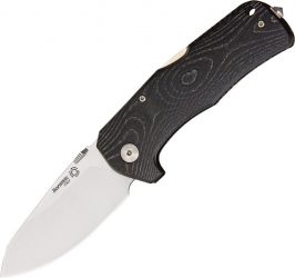 Lion Steel TM1 Micarta Handle Satin Blade