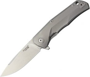 Lion Steel TRE Titanium Framelock Gray