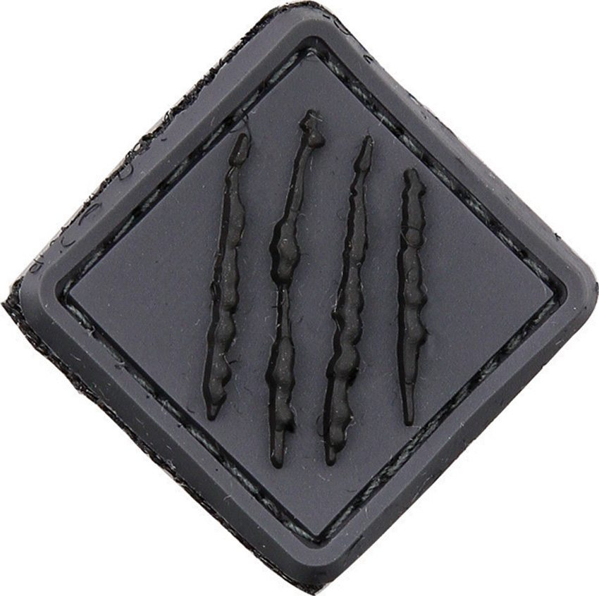 Bastinelli Creations PVC Patch Craws Gray/Black