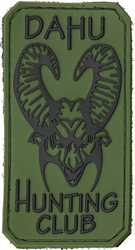 Bastinelli Creations PVC Patch Dahu Hunting Club