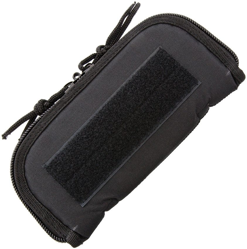 "Carry All 9"" Black Cordura Zip Pouch"