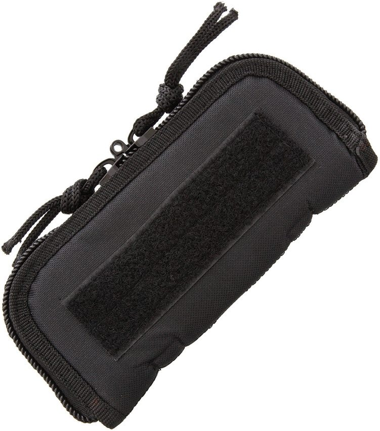"Carry All 7"" Black Cordura Zip Pouch"