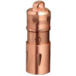 Jetbeam Mini-1 Keychain Flashlight, Copper