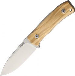 Lion Steel M4 Fixed Blade Olive Wood