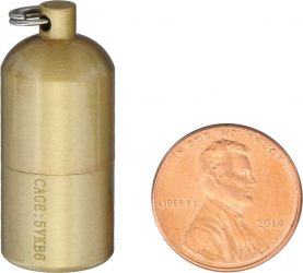 Maratac Brass Split Pea Lighter
