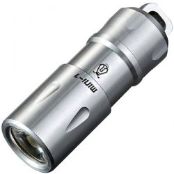 Jetbeam MINI-1 Micro USB Rechargeable Light Cree XP-G2 130 Lumens (TITANIUM)