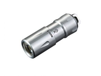 JETBeam MINI-1 Stainless Steel LED Flashlight