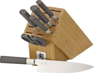 Kershaw Wasabi Seven Piece Kitchen Set