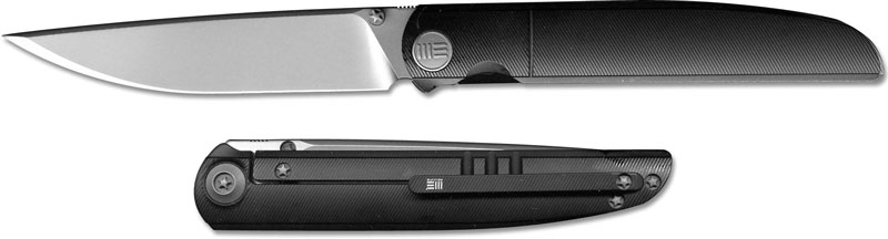 We Knife Co Ltd Framelock Bead Blast Black